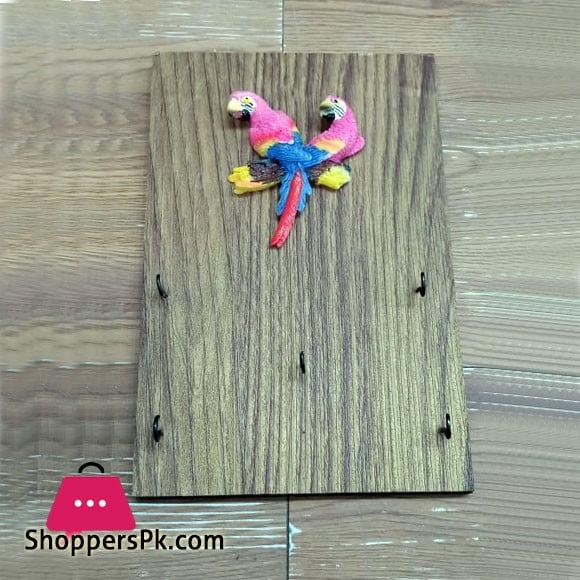 Parrot Key Holder 5 Hook