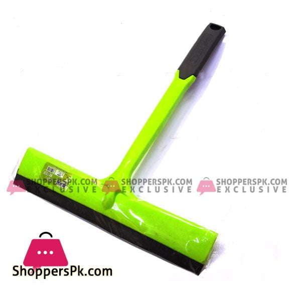 Plastic Green and Black Floor Cleaning Small Wiper