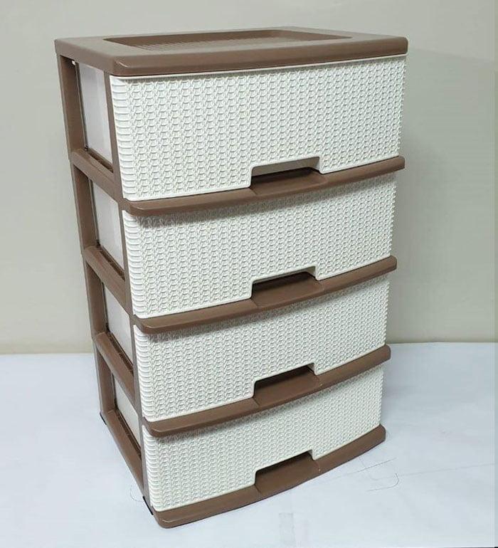 Portable Storage 3 Drawer 12.5 x15 x18.5 Inch