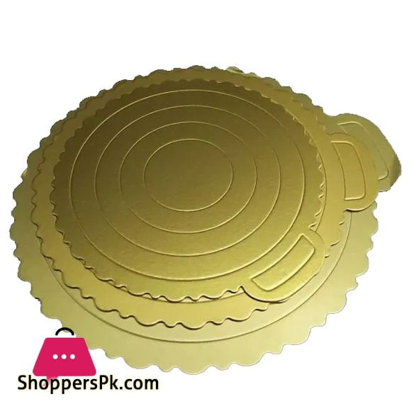 Round Plain Cake Board Set 3 Pcs