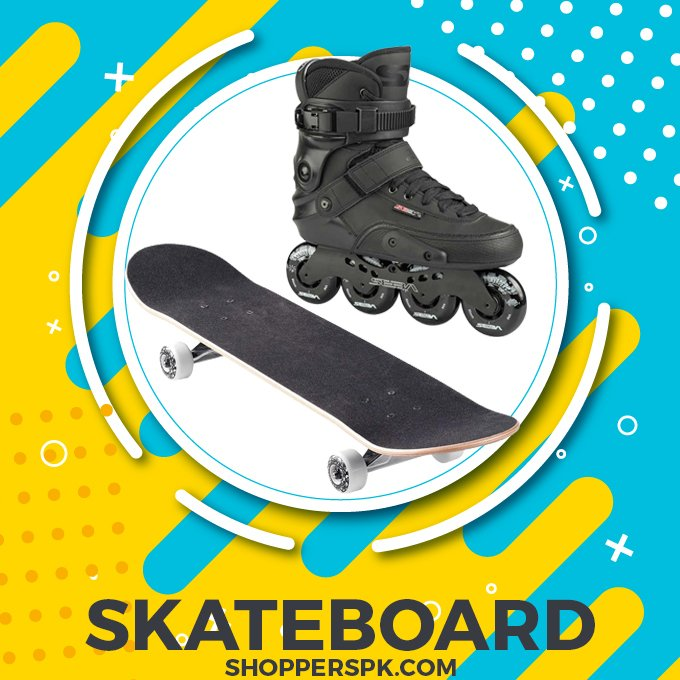 Skateboard & Skates in Pakistan