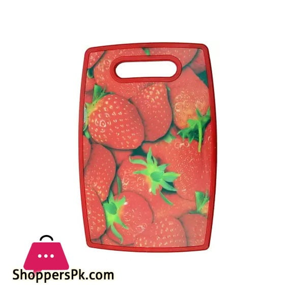 Solid Plastic Vegetables and Fruits Chopping Board