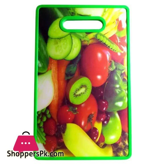 Solid Plastic Vegetables and Fruits Chopping Board Rectangle