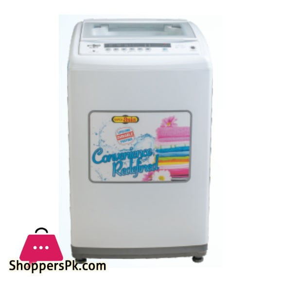 Super Asia Fully Automatic Front Load Washing Machine - (SA-610AWW) - Karachi Only