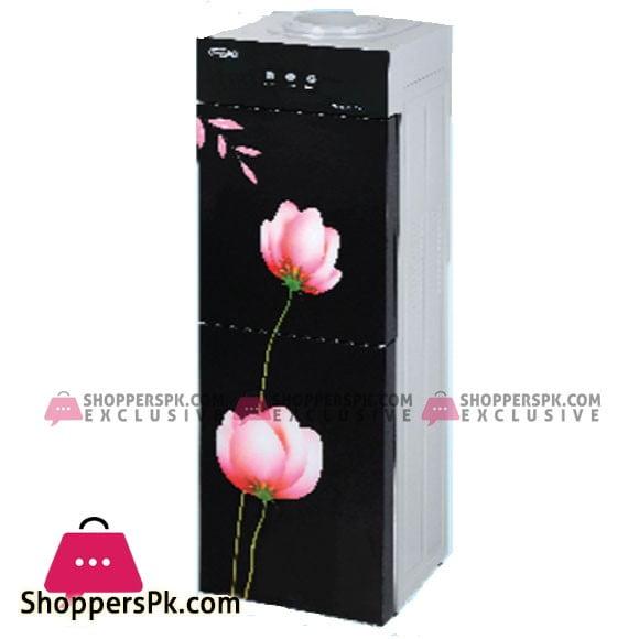 Super Asia Water Dispenser with Refrigerator - (HC-40GD) - Karachi Only