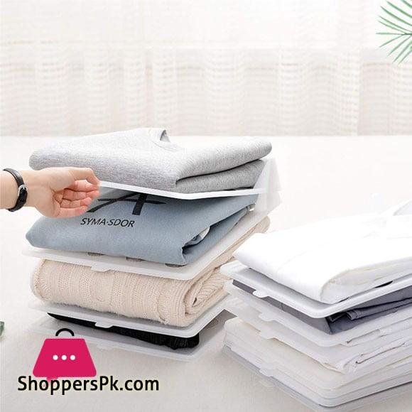 T-Shirt Clothes Folder T-Shirt Folding Board Shirt Floder 5 Pcs