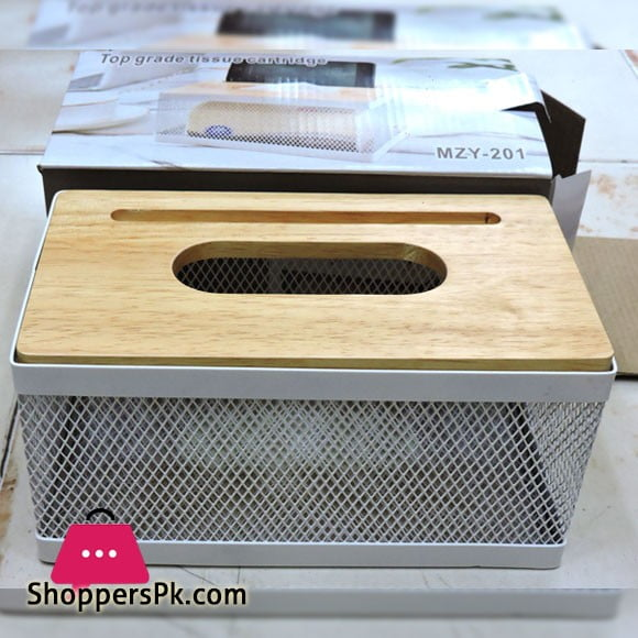 Top Grade Tisse Box with Mobile Holder MZY-201