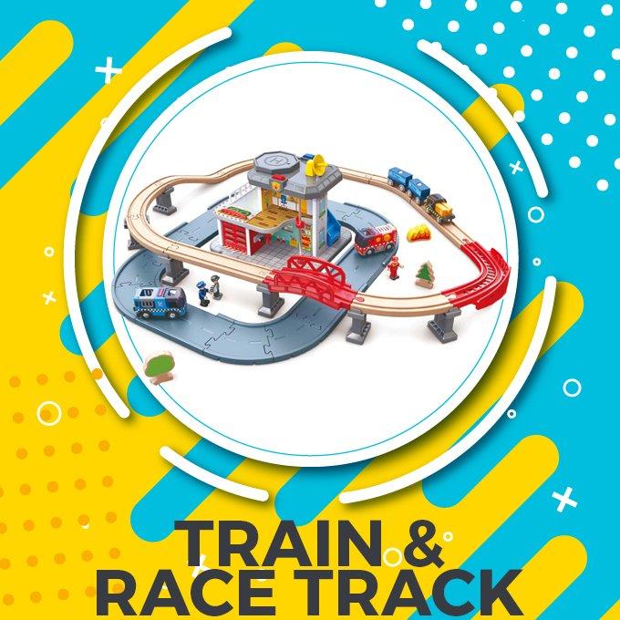 Train & Race Track in Pakistan