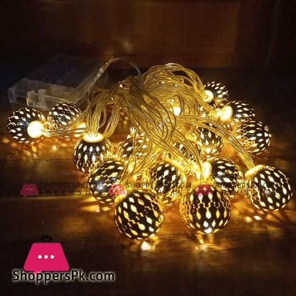 20 New Balls Fairy Lights Length 3 Metter
