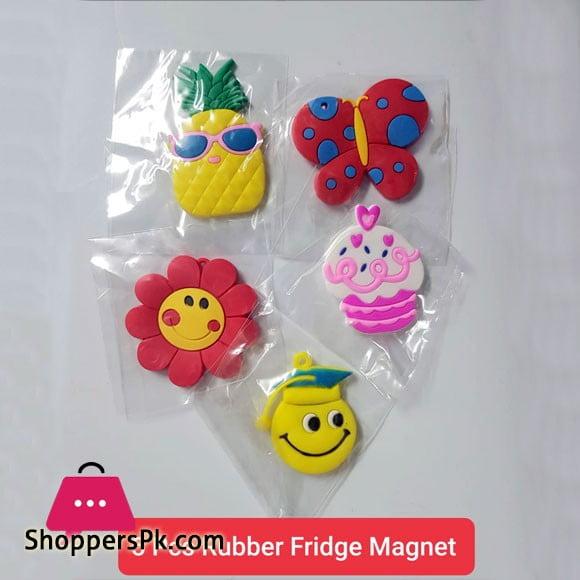 5 Pcs Rubber Fridge Magnets