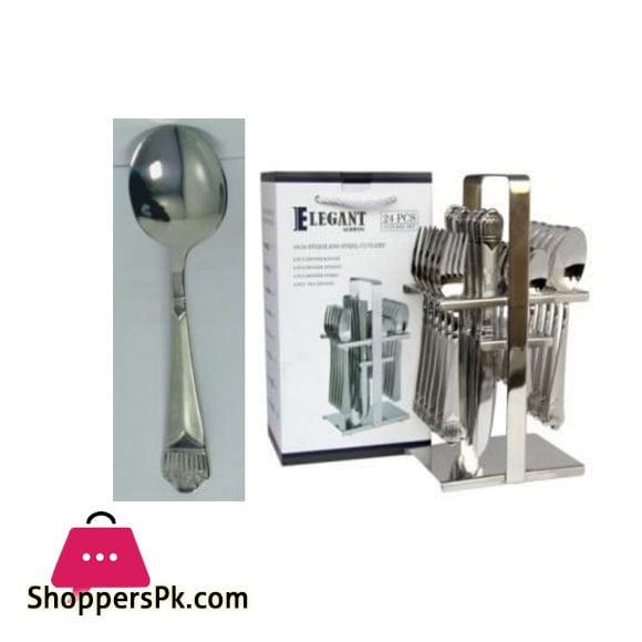 Elegant Cutlery Set 24 Pcs (Taj) - AA0011G