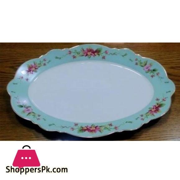 Angela Oval Plate - BRD126