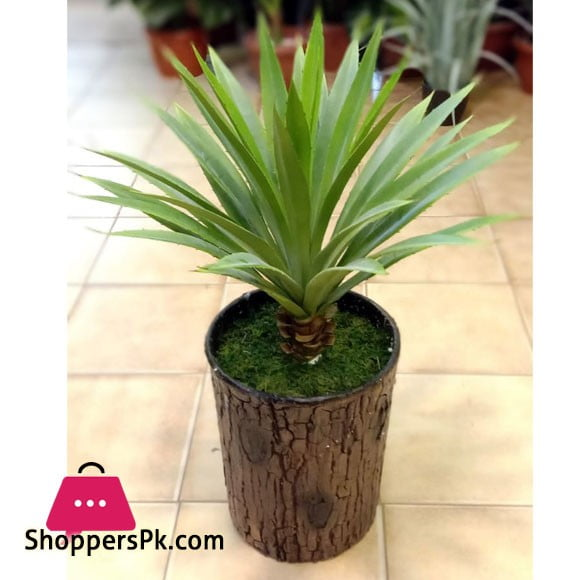 Artificial Agave Plant with Unbreakable Pot