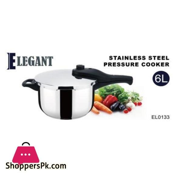 Elegant 6 liter SS Cooker - EL0133