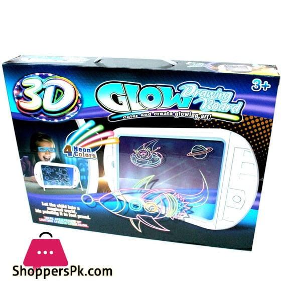 Glowing 3D drawing board Glow Drawing Board