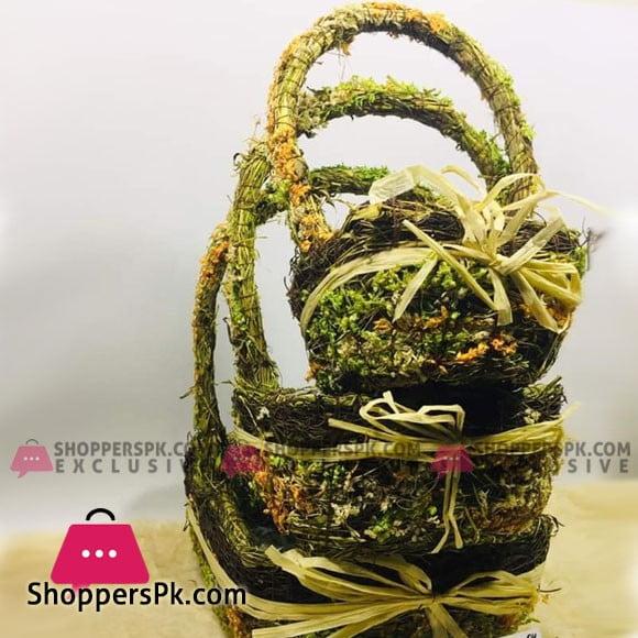Handmade Basket Set 3Pcs Set