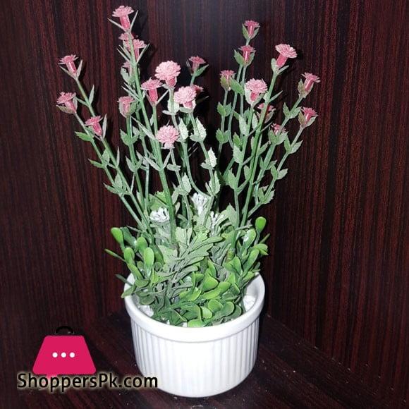 Home Decoration Artificial Flower Pot A2 Size 6Inch