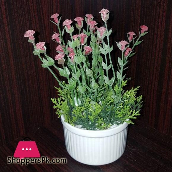 Home Decoration Artificial Flower Pot A4 Size 6Inch