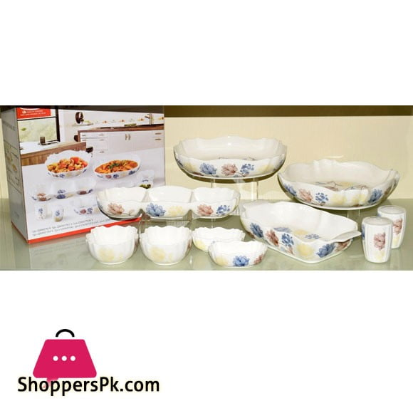Imperial Serving Set - 10 Pcs - Ceramic