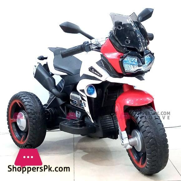 Kid Ride On 3 Wheeler Electronic Motorbike Hand Accelerator NEL R1600