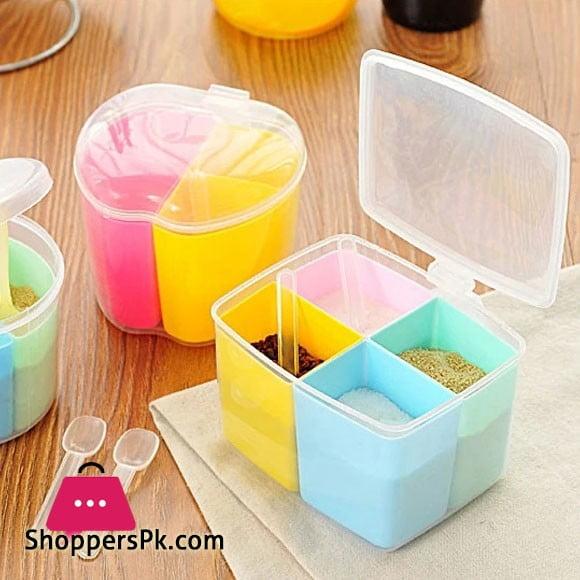 Kitchen Spice Box Masala Box 4 Case