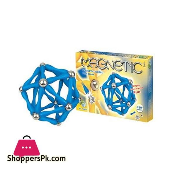MAGNETIC Magnetic Blocks 84 Pcs JH6831 Price in Pakistan