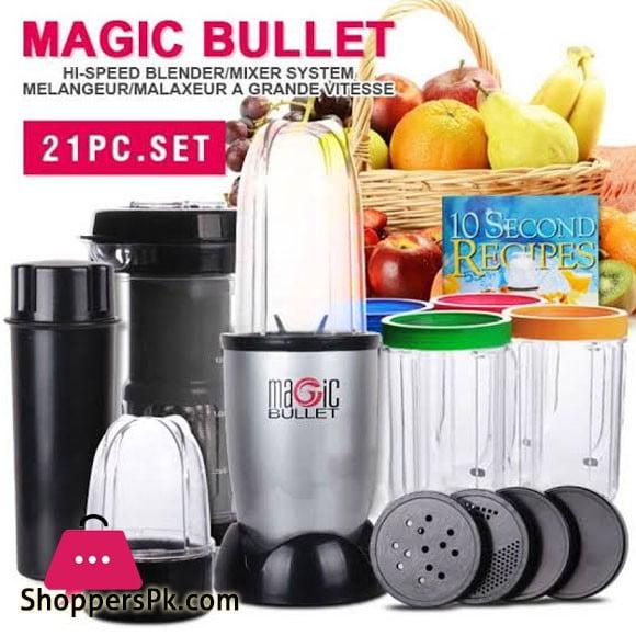 High Speed Magic Bullet Juicer 21Pcs - Karachi Only
