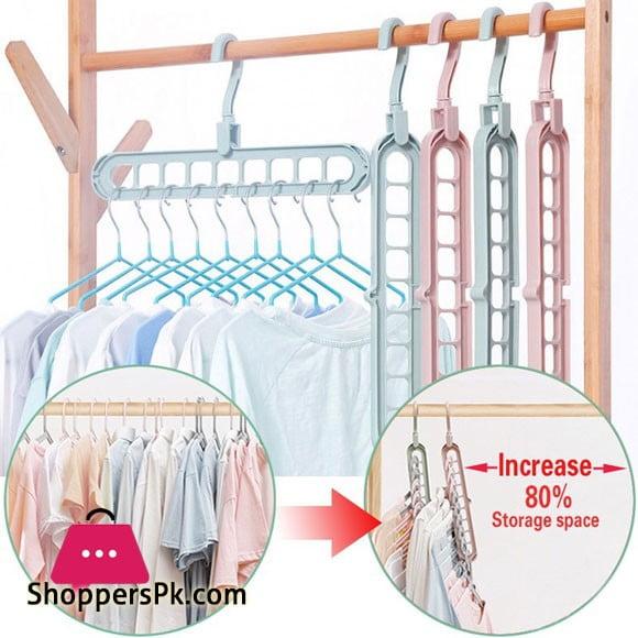 Multipurpose Cloth Hanger - 1 Pcs