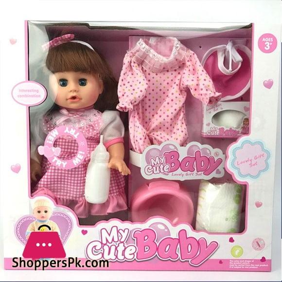 Newborn Baby Girl Reborn Baby Doll Play House Toy