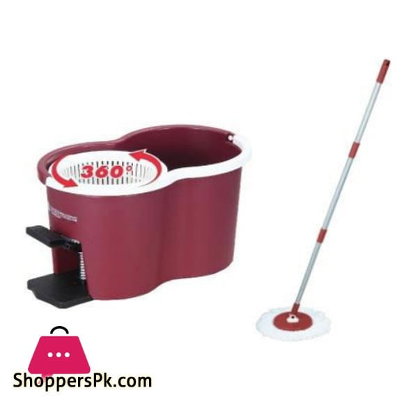 Taiwan Red Mop Bucket - RT-C9232