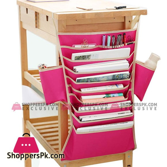12 Multi-Pocket Adjustable Stationery Organizer, Storage Holder Bag (25x16 inch)