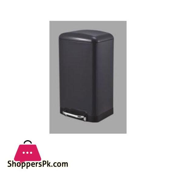 Home Fresh 12Ltr Rect Black Bin - HF0029