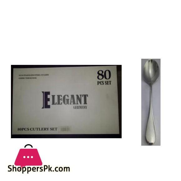 Elegant 3 Set Cutlery 80Pcs 4.0MM - EL26MS