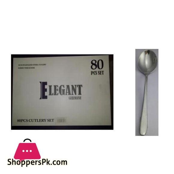 Elegant 3 Set Cutlery 80Pcs 4.0MM - EL25MS