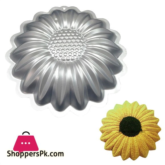 Sunflower Aluminum Cake Pan