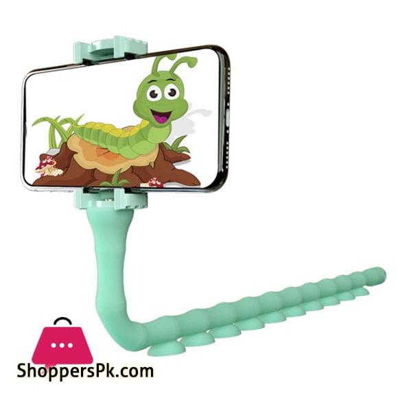 Lazy Smartphone Holder Suction 360 Flexible Cute Worm - JW-L8