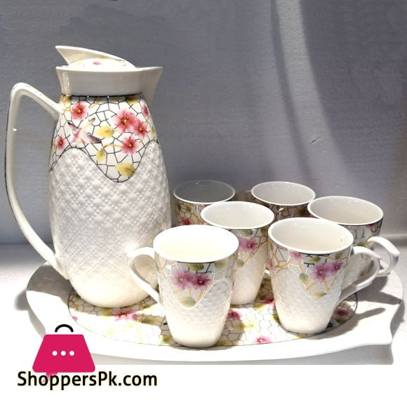 Ceramic Tea Set 8 Pcs