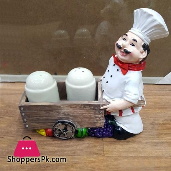 Chef Salt and Pepper Set