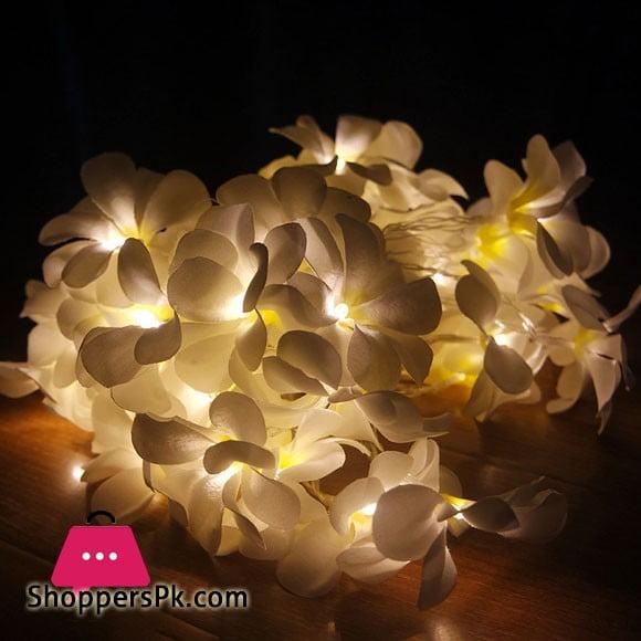 Creative DIY frangipani LED String Lights