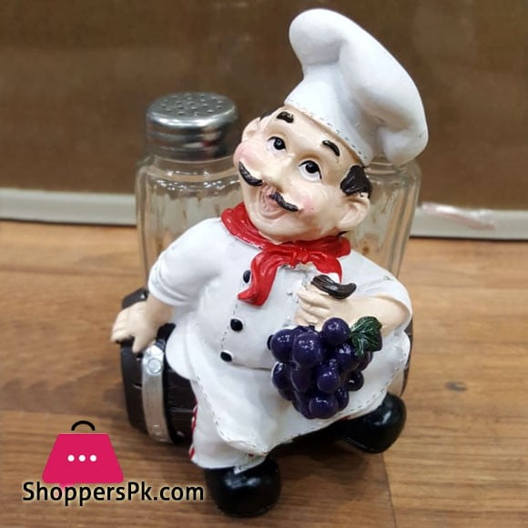 Fat Chef Salt and Pepper Set