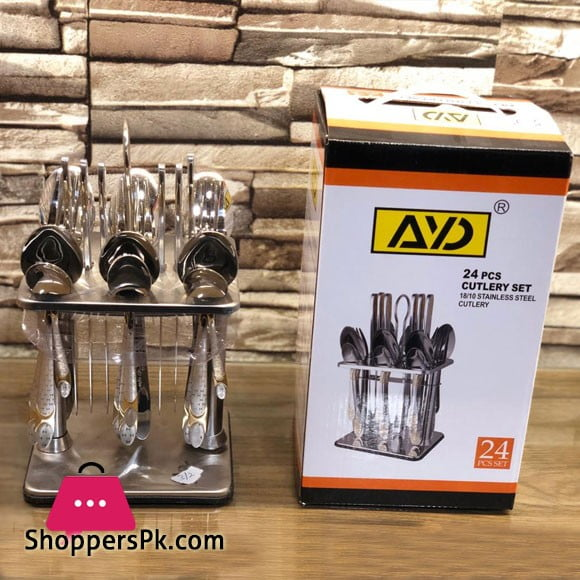 High Quality Stainless Steel Cutlery Set 24 Pcs