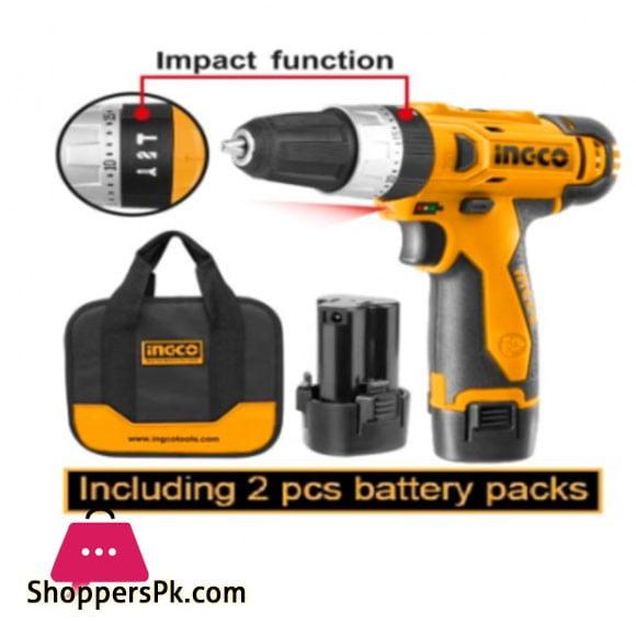 INGCO Li-ion impact Drill 12V CIDLI228120