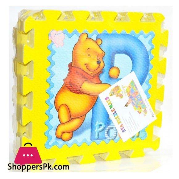 Kids Jumbo Eva Floor Mat Puzzle 8 Piece 12 x 12 Inch