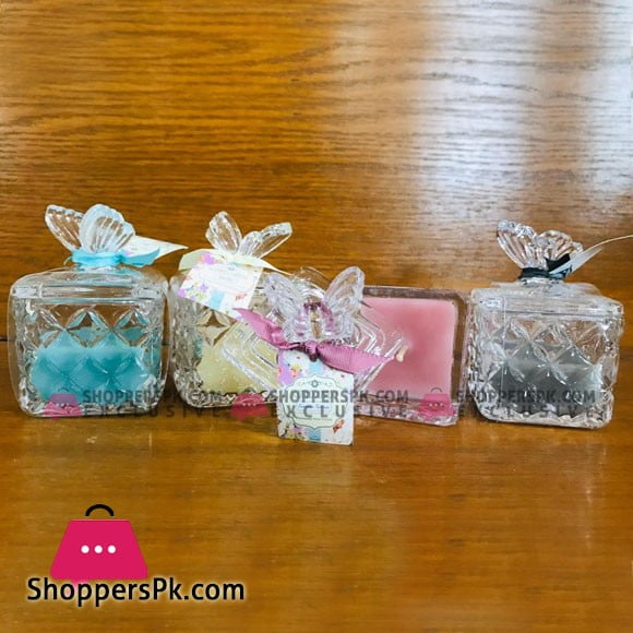 New Beautiful Butterfly Box Scented Candle 1 Pcs