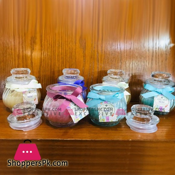 New Beautiful Small Jar Scented Candle 1 Pcs