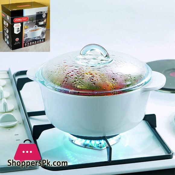 PryoFlam Pyrex Vitro Ceramic Casserole Dish 27 CM Original France