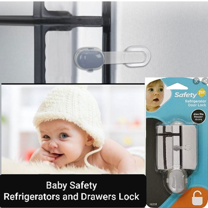 Safety 1st Refrigerator Door Lock Multi Purpose Lock Safety Accessory