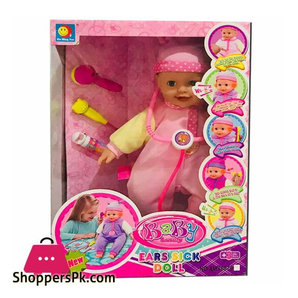 Baby Lovely Ears Sick Doll XMY-8078