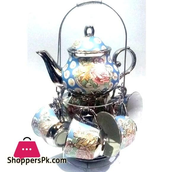 13 Pcs Coffee Set Silver