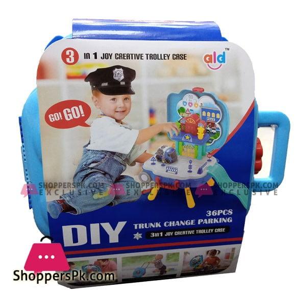 3 In 1 Joy Creative Trolley Case